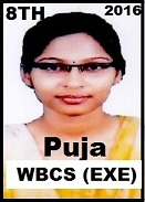 Interview With Ms. Puja Debnath Rank 8 In WBCS (Exe.) Etc. Exam 2016