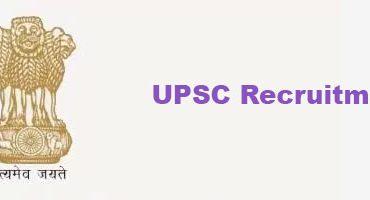 UPSC Job Vacancy Advertisement NO. 23/2017