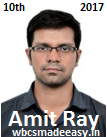 WBCS Group A Interview Experience Of Amit Ray W.B.C.S. Topper- WBCSMadeEasy Student.